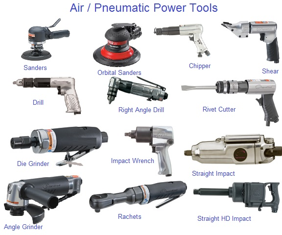 Air, Pnuematic Tools