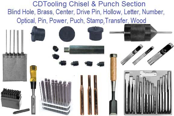 Chisels Punch and Stamps