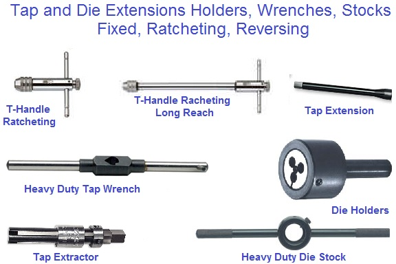 Tap and Die, Handle, Stock, Wrench