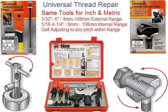 Thread Repair Tooling