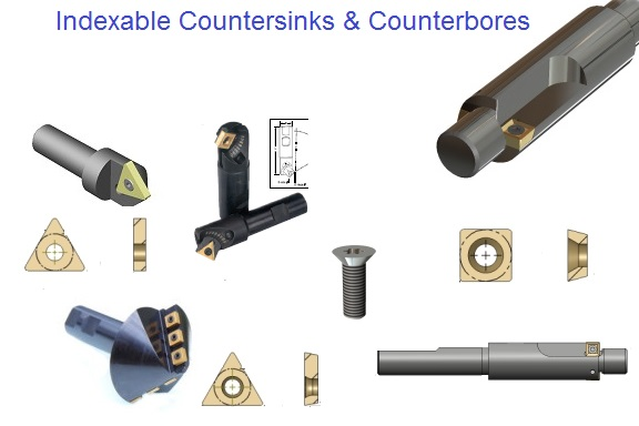 Counterbore and Countersinks