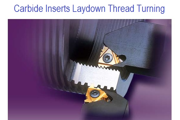 Threading Inserts Laydown