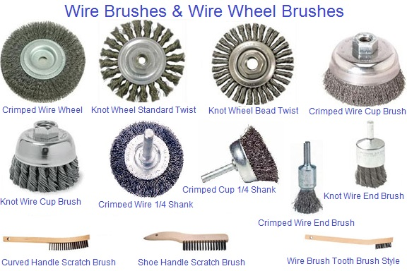 Wire Wheel Brushes and Hand Brushes