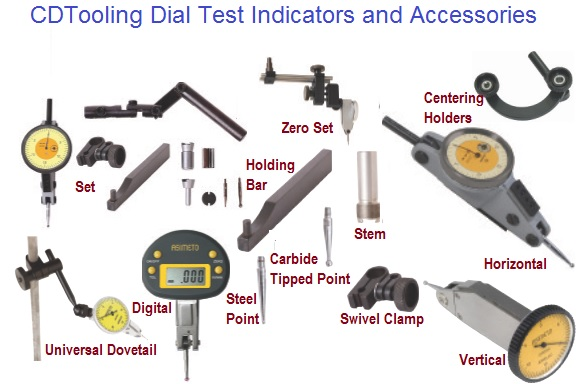 Dial, Digital, Test Indicators and Accessories