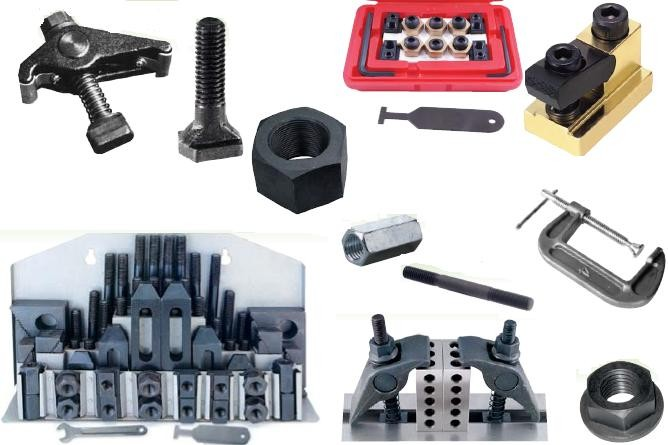 Clamping Kits, T Slot Nuts,T-Slot Bolts, Hex Nuts, Flange Nuts, Studs. Toggle Clamps