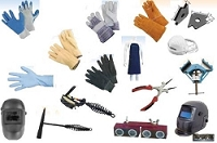 Gloves and Welding Supplies, Jersey, Leather,Latex, Neoprene, Dust Masks