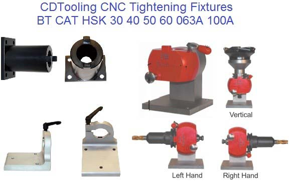Universal CNC Tool Tightening Fixtures ID 647