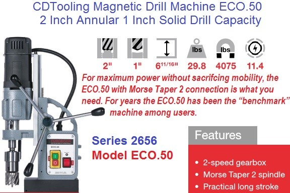 ECO.50 Magnetic Drilling Machine 2 Inch Annular 1