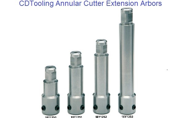 Annular Cutter Extension Arbors 3/4