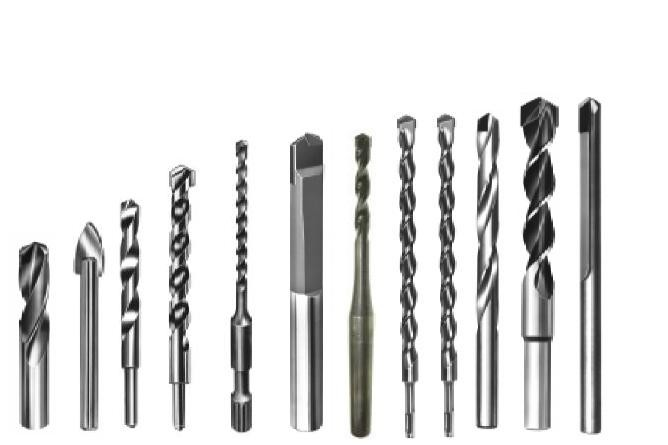 Drills Carbide Tipped Drill Bits, All Types