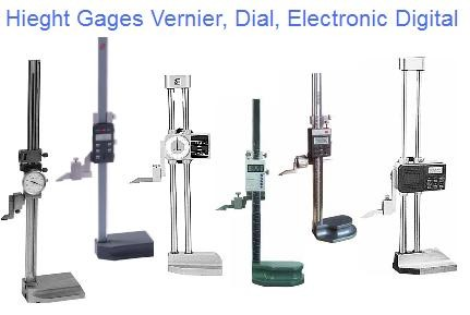 "Height Gage Vernier, Dial, Electronic Digital 12"" 18"" 20"" 24"" 40"""