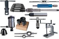 Tap Accessories Tapping Heads, Hand Tappers, Wrenches & Handles Extractors