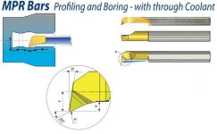 Boring Bar MPR Profiling & Boring Carbide With Through Coolant
