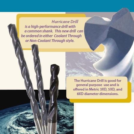 Drill Bits H30 High Performance Solid Carbide & Coolant Through