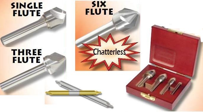 Countersink Carbide, Center Drill, Combined Drill and Countersink