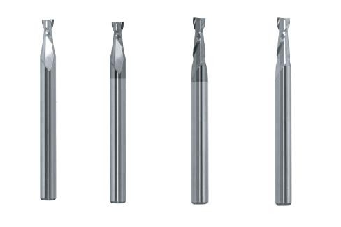 Milling: 2 Flute 1.5x & 3x Diameter Carbide End Mills