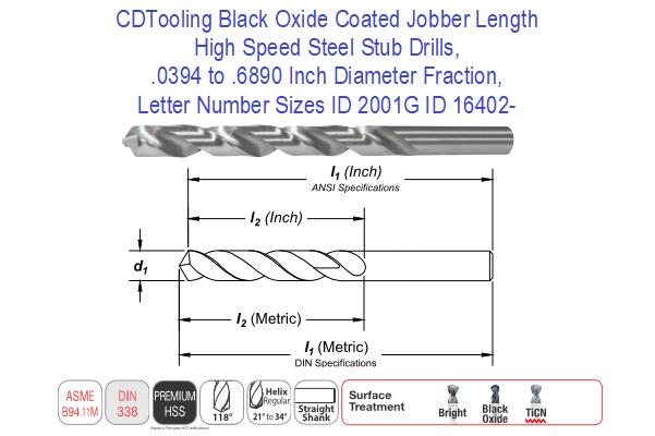 Pack of 20 11//64 Jobbers Length Reamer Blank