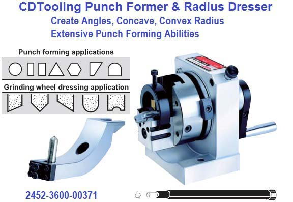 Punch Former And Radius Wheel Diamond Dresser 2452 3700 0037