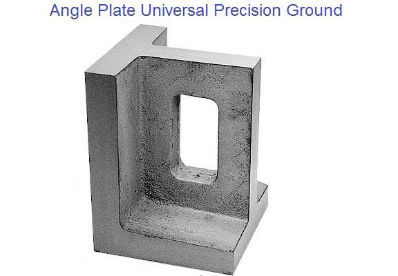 Angle Plates Universal Right Angle Precision Ground 3-3/4 to 8 inch