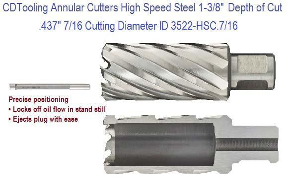 """15//16/""""  X 1/"""" long     M2  HSS Annular Cutters"""