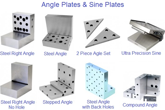 Angle Plates Steel and Sine Plates