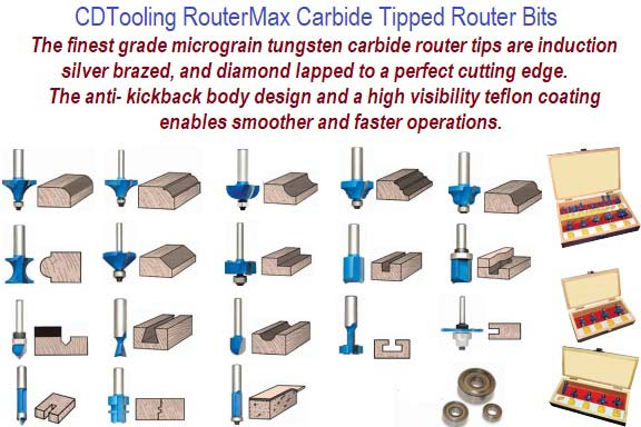 Router Bits Carbide Tipped