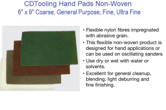 Hand Pads - Non-Woven