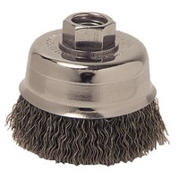 3 inch Crimped Wire Cup Brush, .014 inch Steel Fill, M14 × 2.0 Nut ID: MK5113242