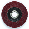 ?4 1/2 inch × 7/8 inch - 80+ Grit - Precision Shaped Ceramic Grain - Type 27 - Flap Disc Alt Mfg # 55607 ID # TM1155607