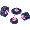 4 × 1 × 1/8 - Extra Coarse Grit - Stripping Wheel ID: MM6438447