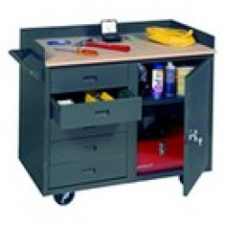 Mobile Service Benches and Cabinets