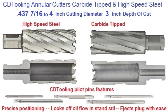 3 Inch Depth of Cut Annular Cutters