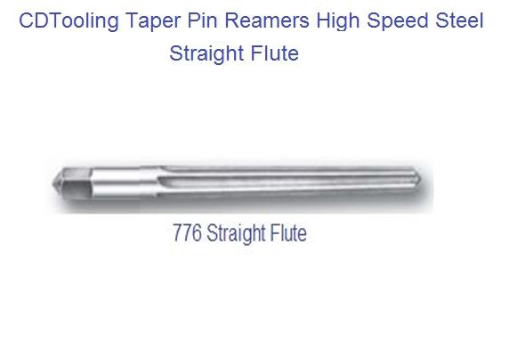 Taper Pin Reamer- Straight Flute ~  Size #: 1  ~  Dia. Of Shank:   3/16  ~  Dia. Small End: 0.1447  ~  Dia. Large End: 0.1798  ~  OAL: 2 15/16  ~  Flute Length: 1 11/16 - ID: 1713-27903