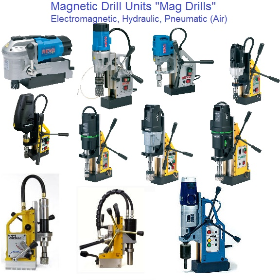 Magnetic Drill, Mag Drill Units