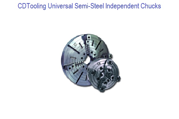 Universal - Semi-Steel Independent Chucks