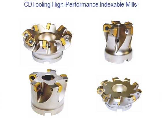High-Performance Indexable Mills