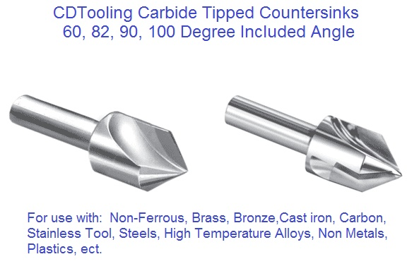 Countersinks 60 82 90 100 120 Degree