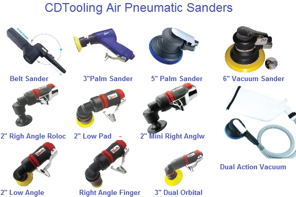 Abrasive Pneumatic Air Sanders