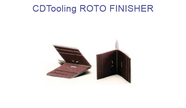 ROTOFINISHER (4 BR-2) 2-1/2x2 Grit - Packs of 100 - ID: 892-41-35540-00