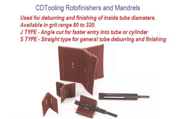 Rotofinishers and Mandrels