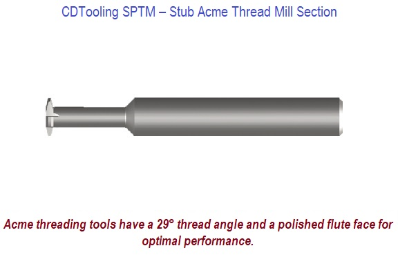 SPTM - Stub Acme Thread Mills