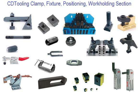 Clamping, Fixturing, Positioning, Workholding Section
