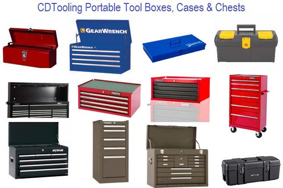 Portable Tool Box, Case and Chest Section