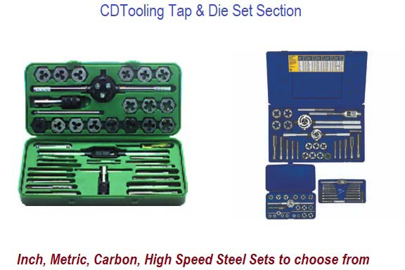 Tap and Die Sets, Inch Metric
