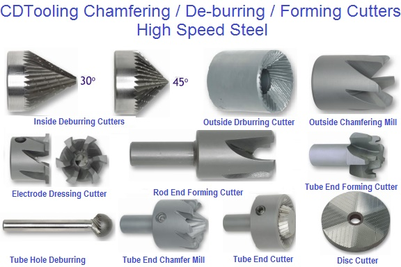 Chamfering De-burring Forming Cutters