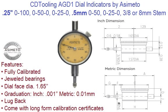 AGD1 Dial Indicator