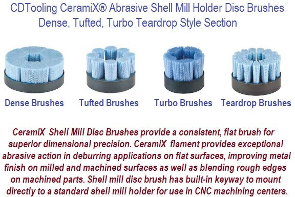 Shell Mill Abrasive Brushes CeramiX
