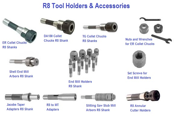 R8 Tooling and Accessories