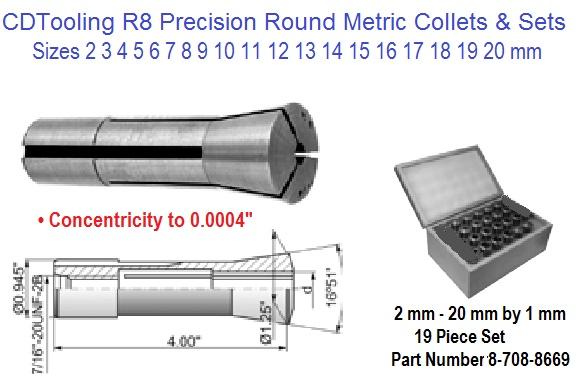 """1//8/"""" Inside Diameter ER40 Collet Sowa #337-728"""