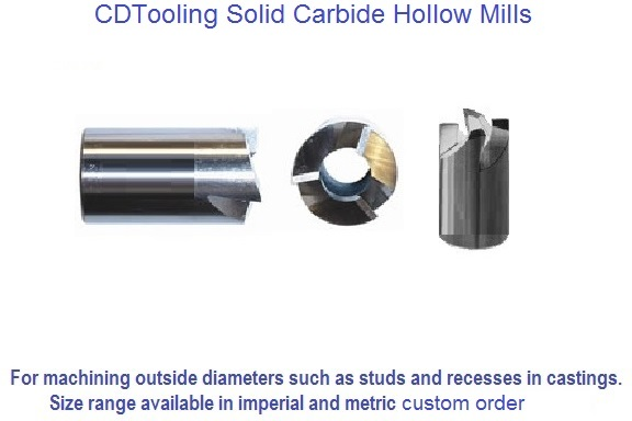 Hollow Mills Solid Carbide